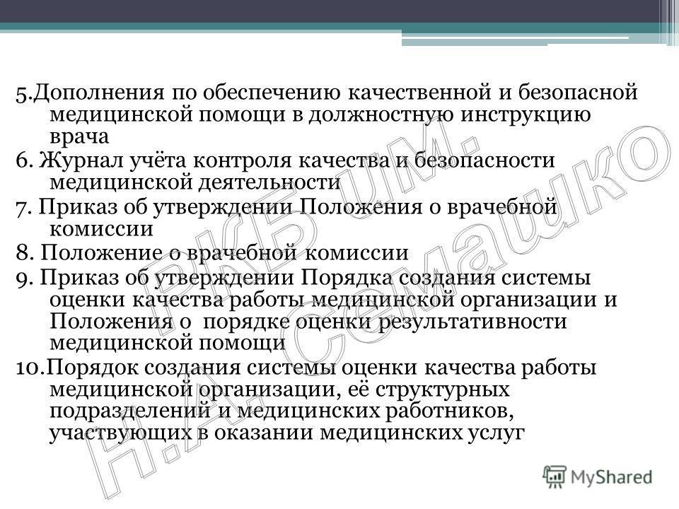 Должностная инструкция главного врача стоматологической клиники скачать