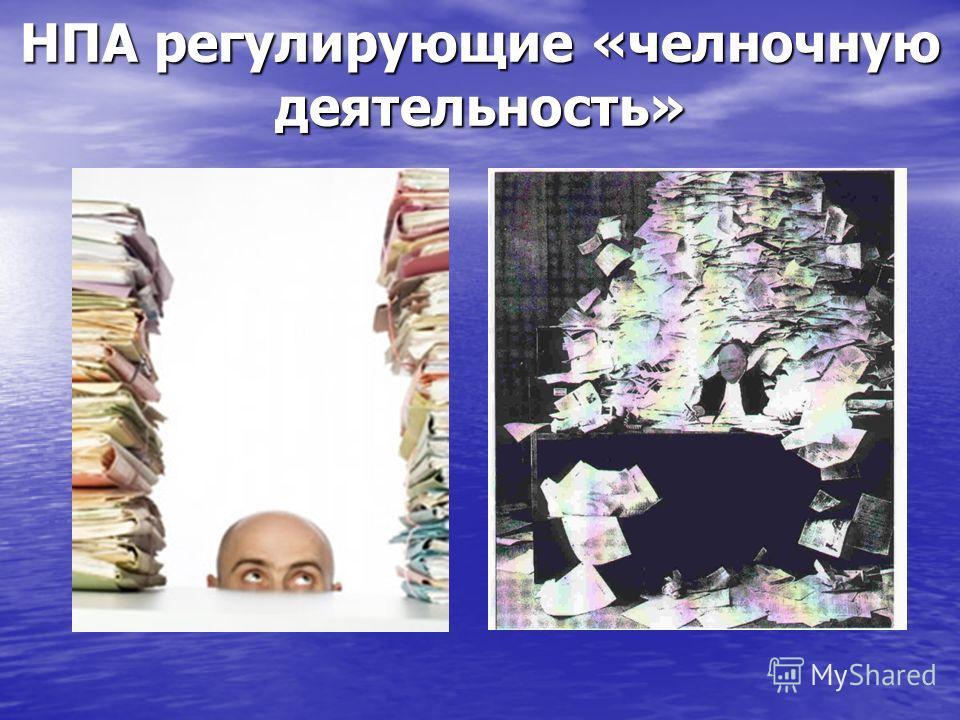 НПА регулирующие «челночную деятельность»