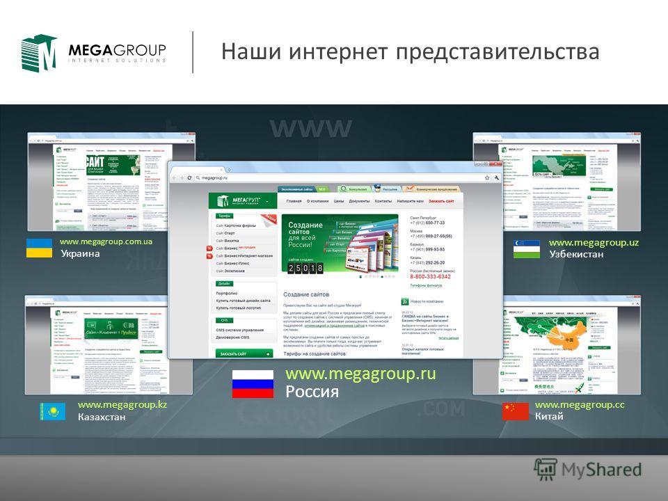 Наши интернет представительства Россия www.megagroup.ru Украина www.megagroup.com.ua Узбекистан www.megagroup.uz Казахстан www.megagroup.kz Китай www.megagroup.сс