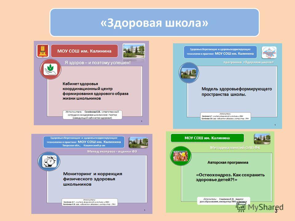 «Здоровая школа» 13