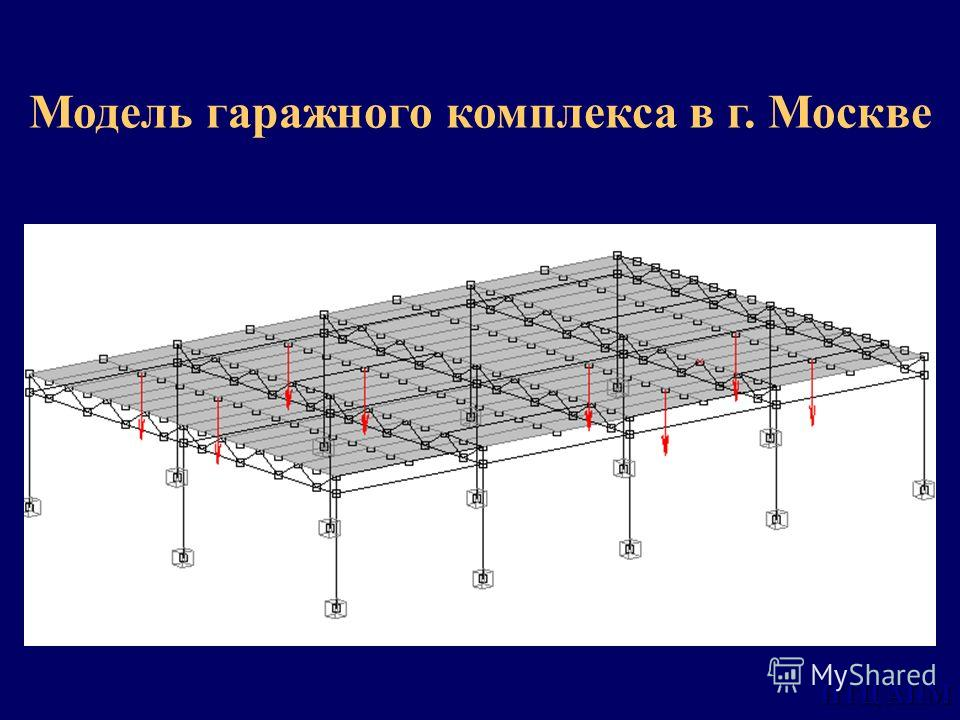 НТЦ АПМ Модель гаражного комплекса в г. Москве