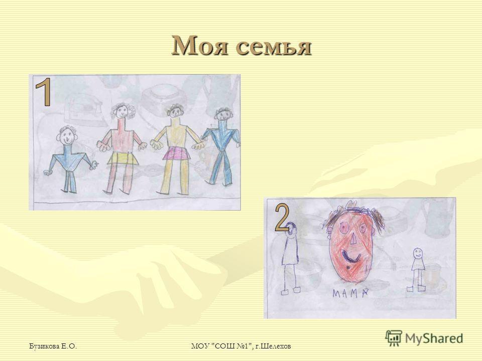 Бузикова Е.О.МОУ СОШ 1, г.Шелехов Моя семья