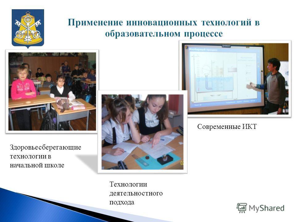 Здоровьесберегающие технологии в начальной школе Современные ИКТ Технологии деятельностного подхода