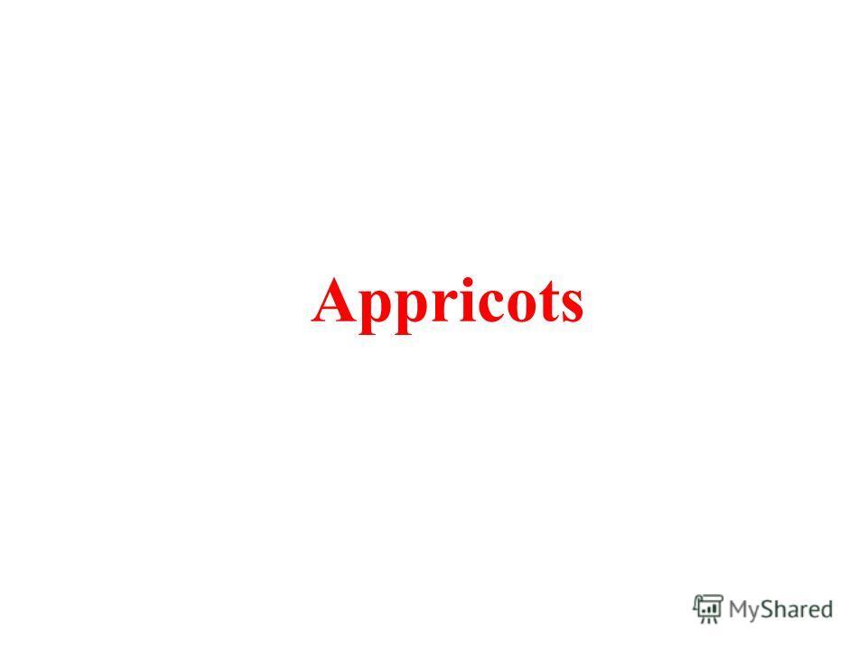 Appricots