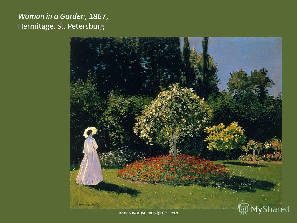 Woman in a Garden, 1867, Hermitage, St. Petersburg annasuvorova.wordpress.com