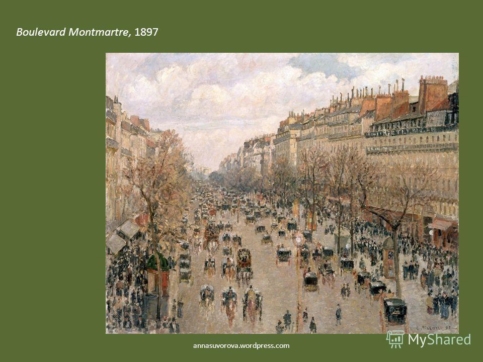 Boulevard Montmartre, 1897 annasuvorova.wordpress.com