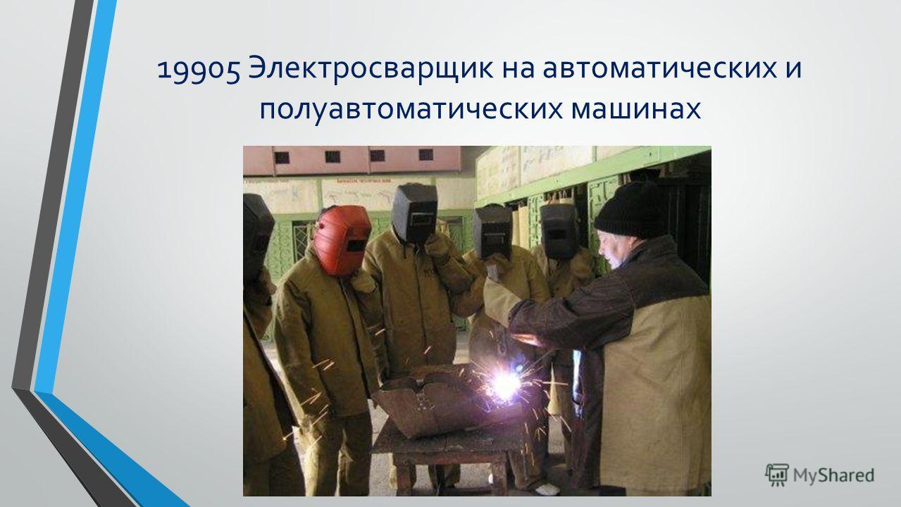 19756 Электрогазосварщик