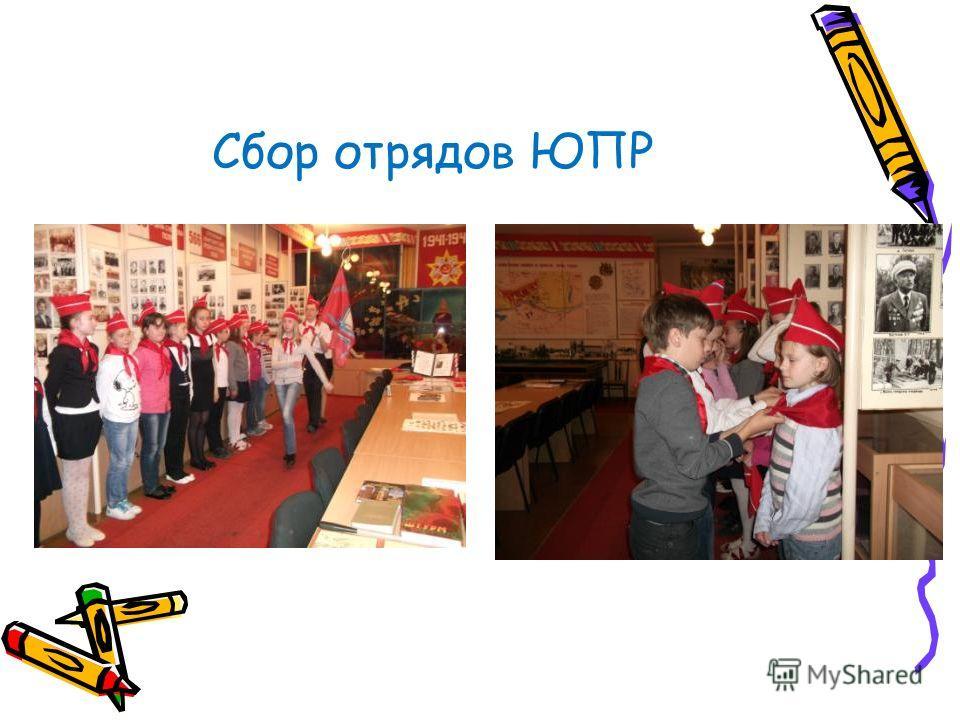 Сбор отрядов ЮПР