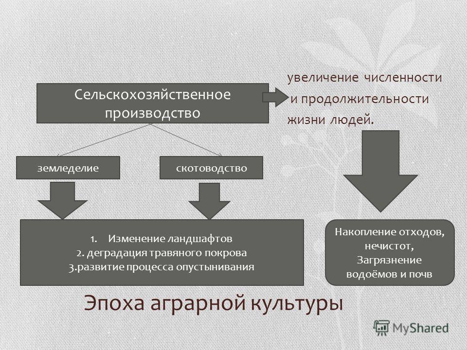 2. Этап аграрной цивилизации - неолитическая революция ( с момента появления сельского хозяйства около 8 тыс. лет тому назад) До формирования промышленного производства (середина XVIII в. н.э.)