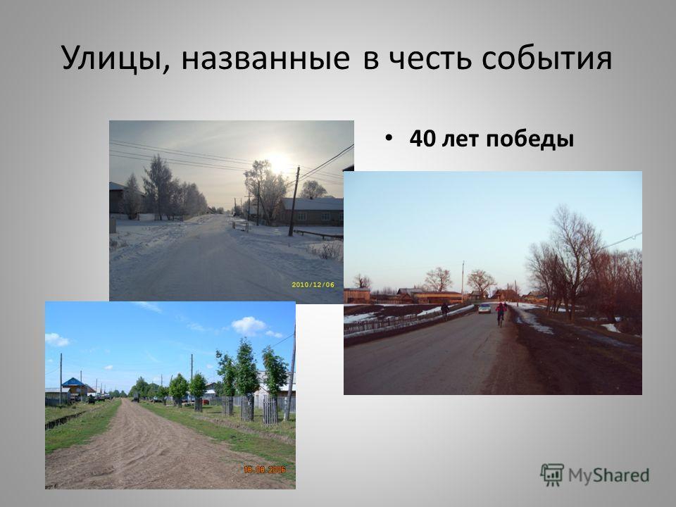 Улицы, название которых связано с населением Удмуртская Колхозная Новая