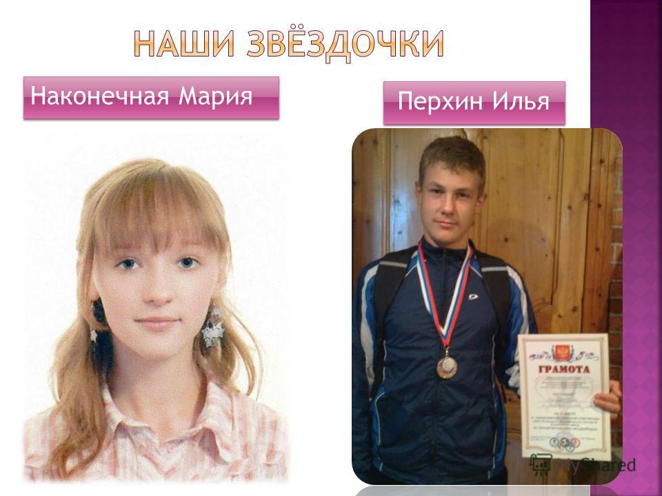 Наконечная Мария Перхин Илья
