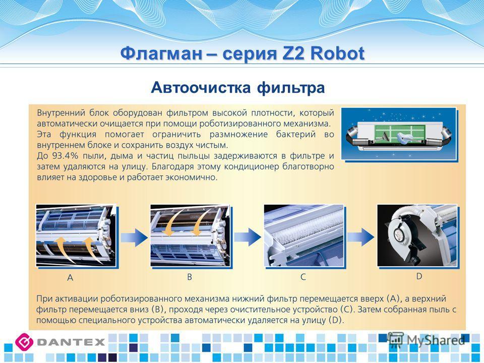 Флагман – серия Z2 Robot Автоочистка фильтра
