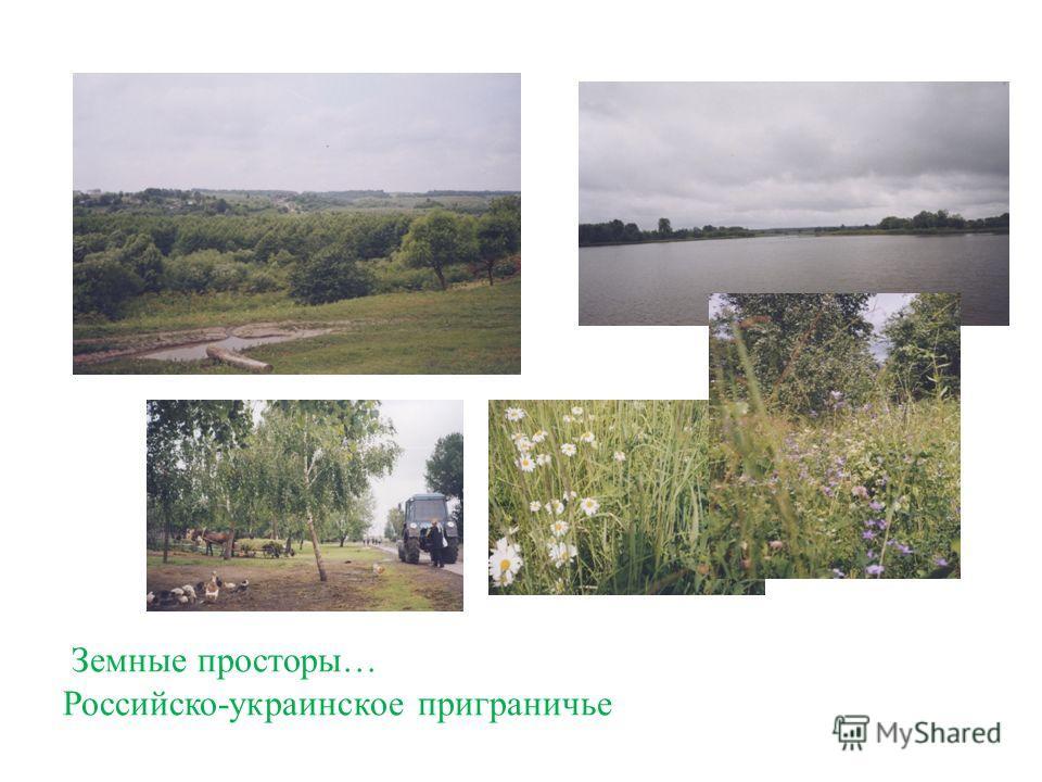 Земные просторы… Российско-украинское приграничье