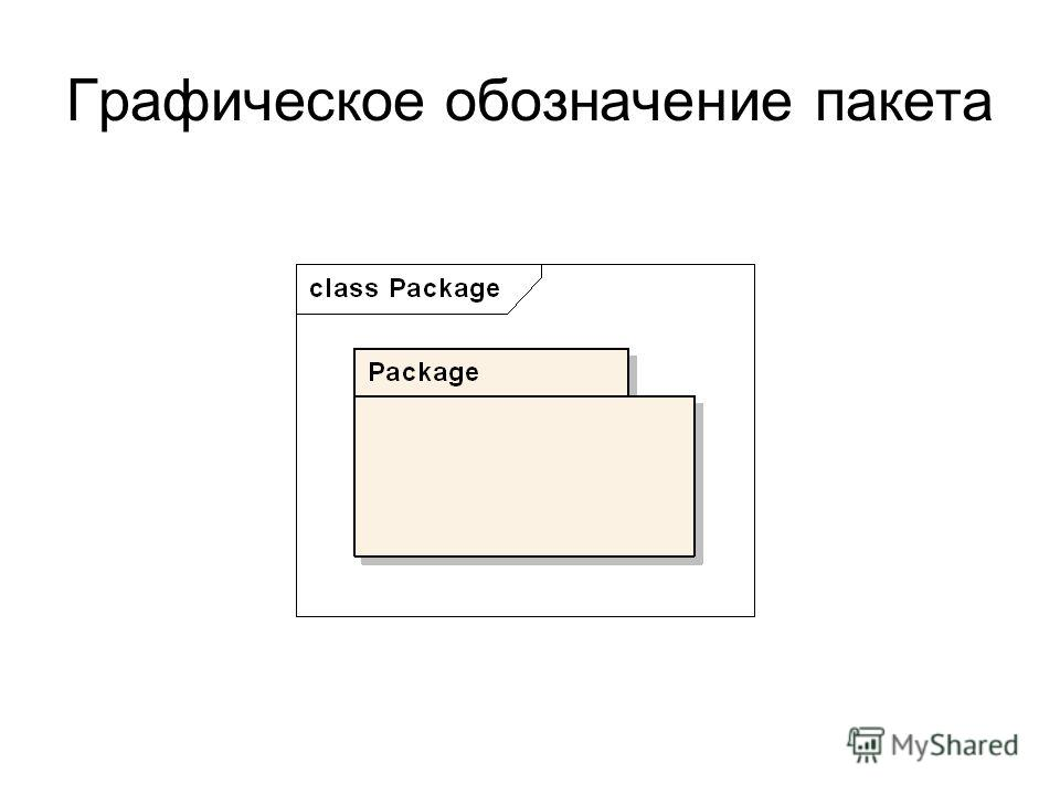 Графическое обозначение пакета