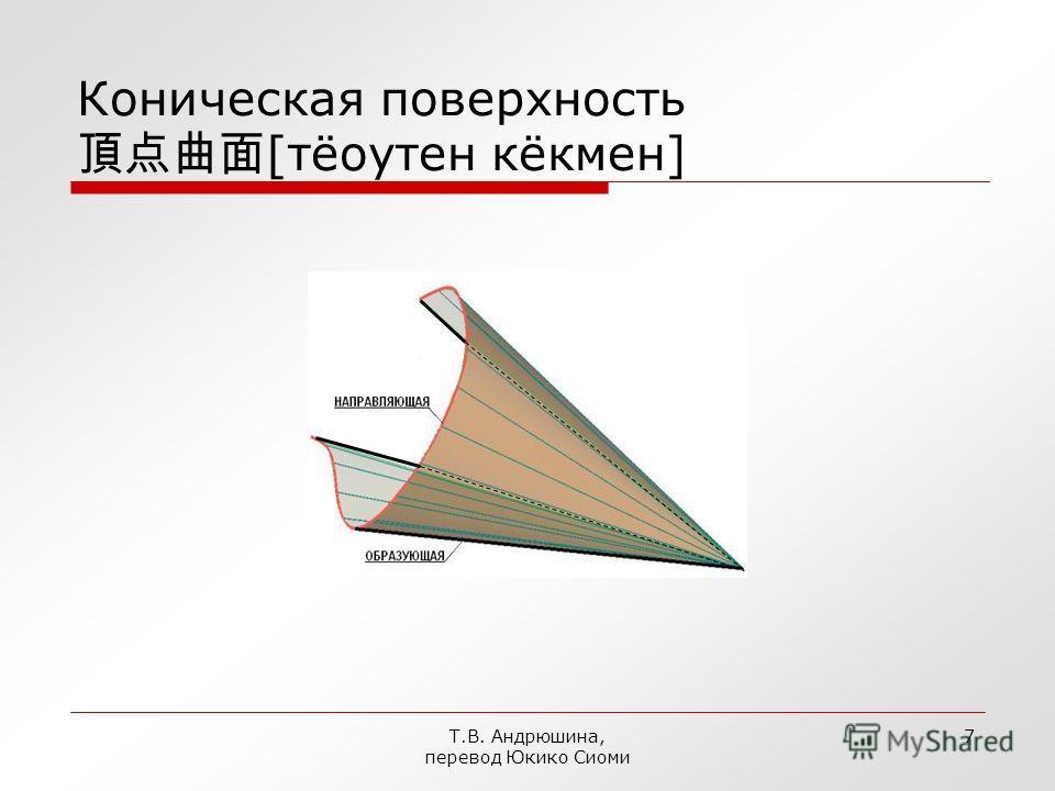 Т.В. Андрюшина, перевод Юкико Сиоми 6 Цилиндр эллиптический [даентюу]