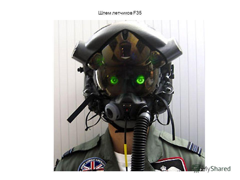 Шлем летчиков F35