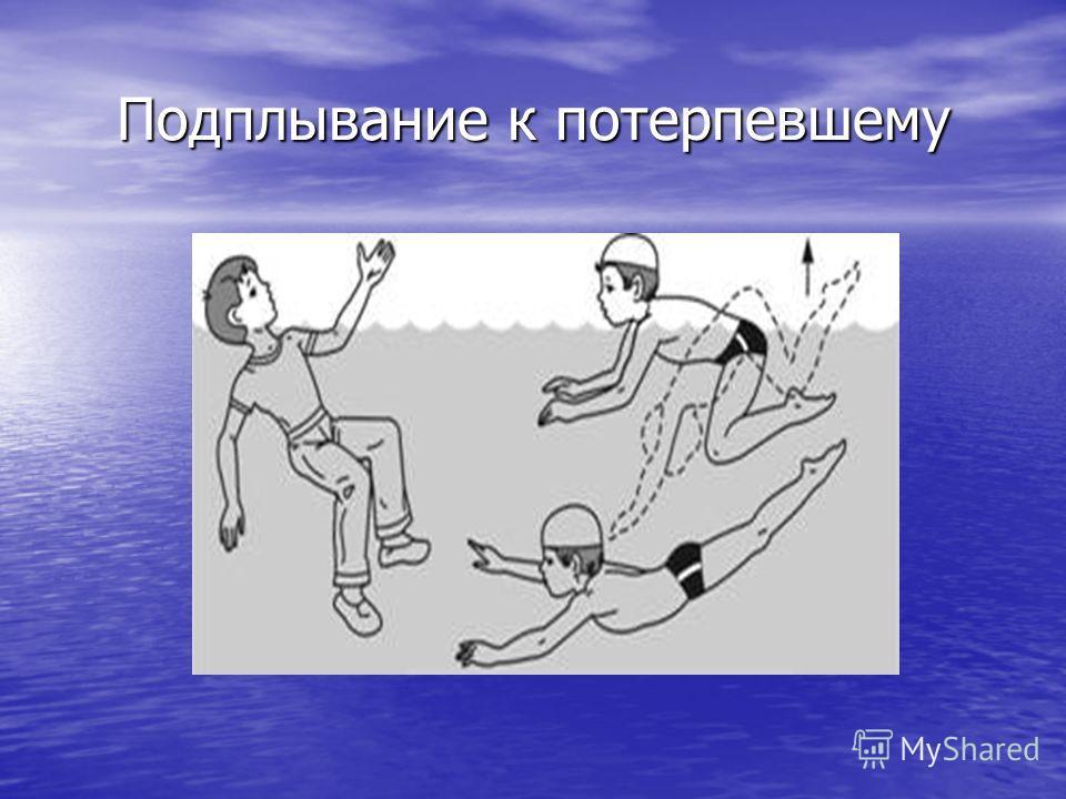 Подплывание к потерпевшему
