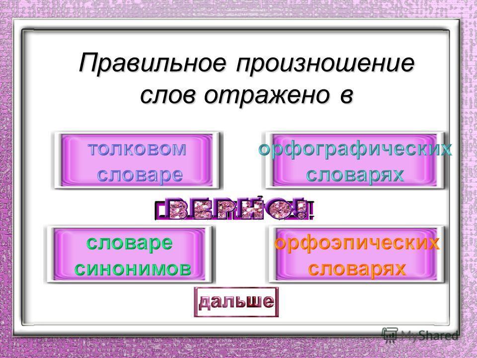 Раздел науки о языке, изучающий правила произношения звуков, называется