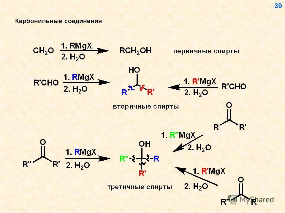 Карбонильные соединения 39