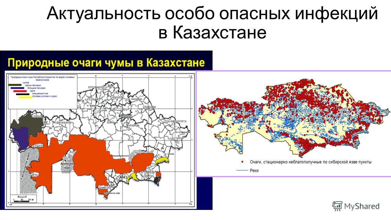 Актуальность особо опасных инфекций в Казахстане