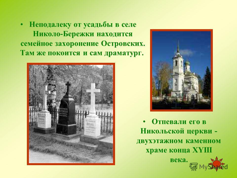 Господский дом в усадьбе Щелыково.