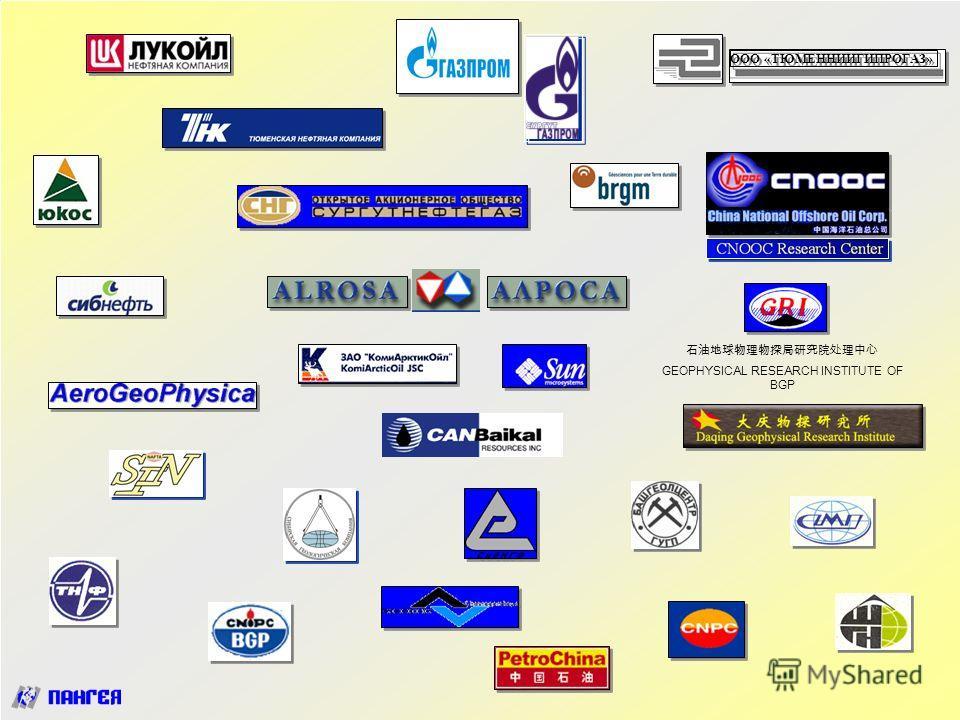Тюмень 13-10-2004 Пангея-2004 www.pangea.ru www.pst.h1.ru http://petrophysics.fastbb.ru38 ООО «ТЮМЕННИИГИПРОГАЗ» GEOPHYSICAL RESEARCH INSTITUTE OF BGP