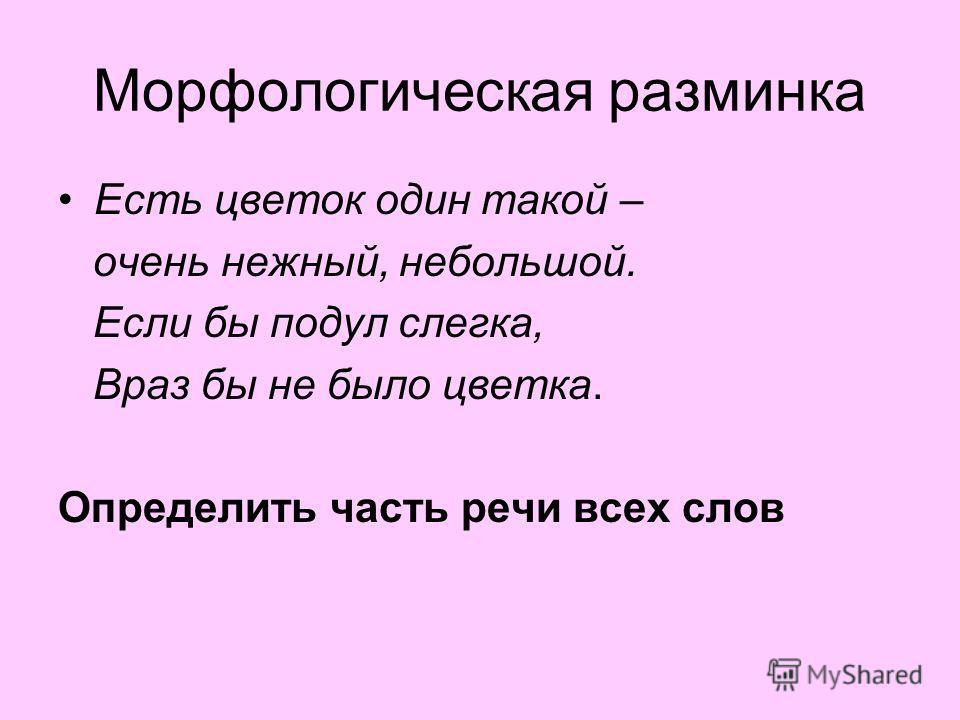 Урок в 7 классе Подготовила: учитель русского языка Юдина Елена Алексеевна