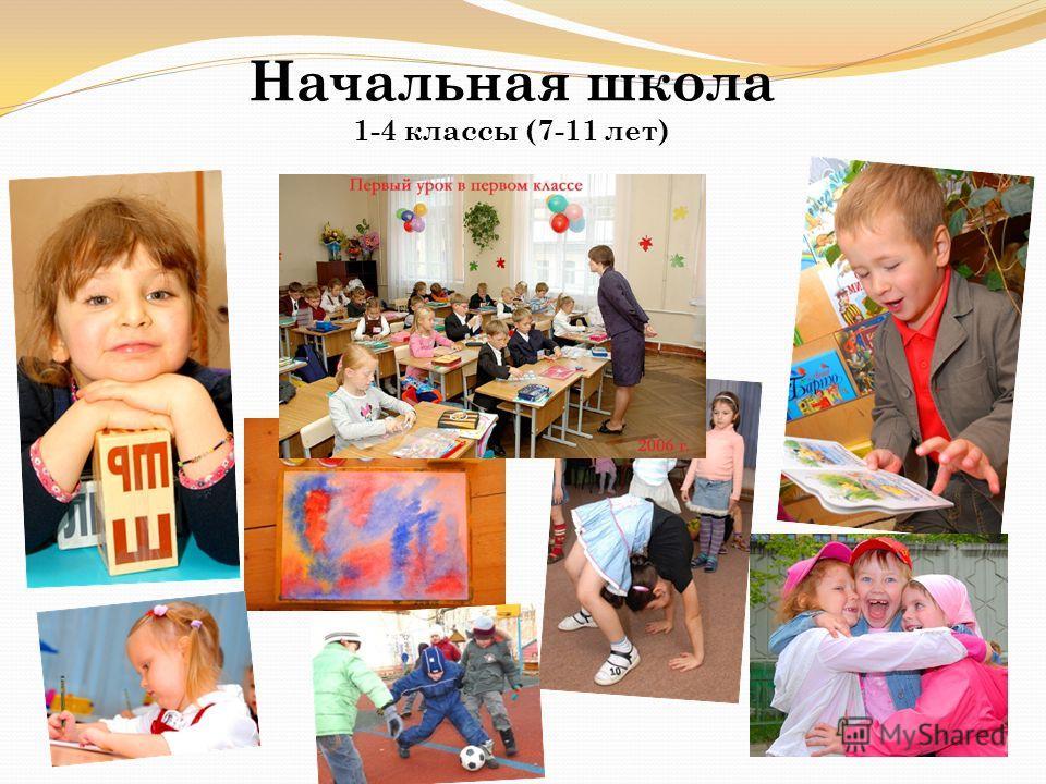 Начальная школа 1-4 классы (7-11 лет)