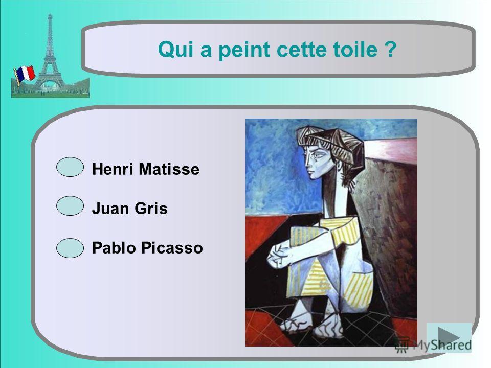 Henri Matisse Juan Gris Pablo Picasso Qui a peint cette toile ?
