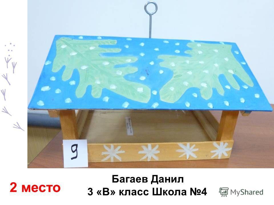 Багаев Данил 3 «В» класс Школа 4 2 место