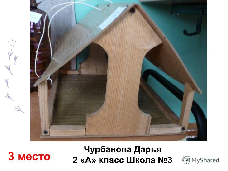 Чурбанова Дарья 2 «А» класс Школа 3 3 место