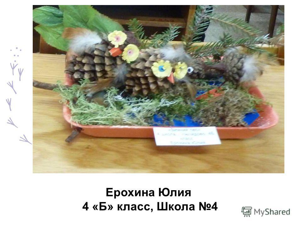 Ерохина Юлия 4 «Б» класс, Школа 4
