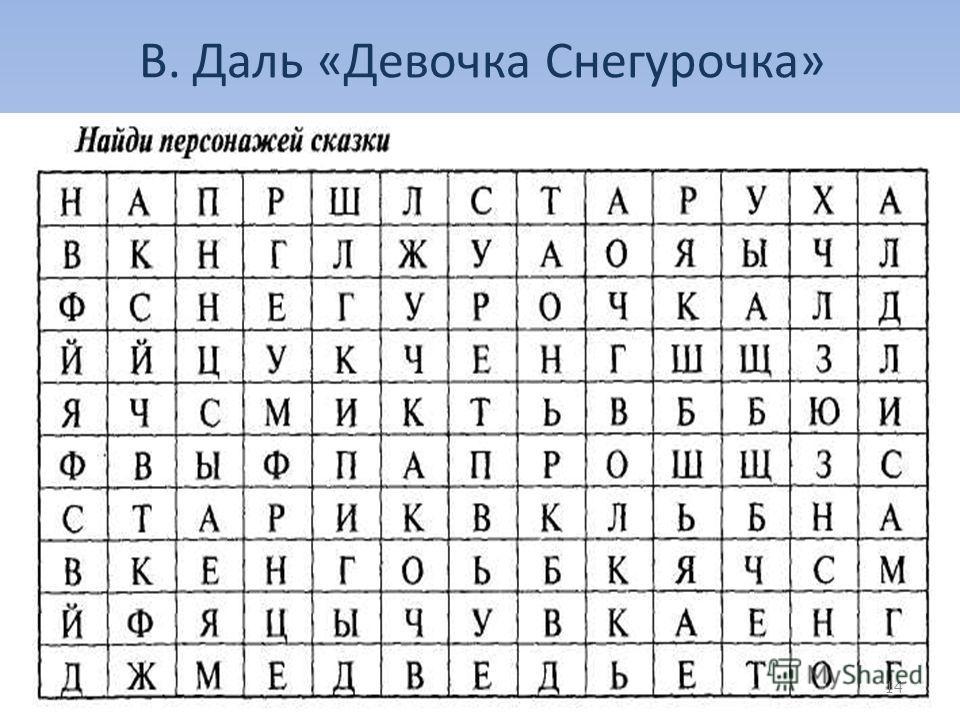 В. Даль «Девочка Снегурочка» 14