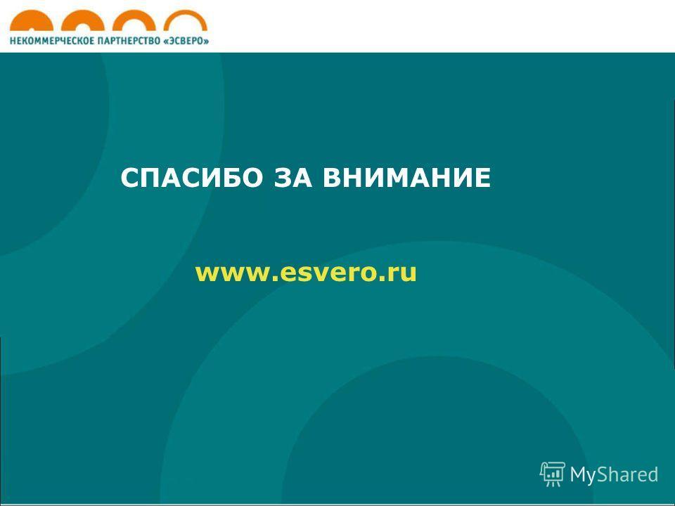 СПАСИБО ЗА ВНИМАНИЕ www.esvero.ru