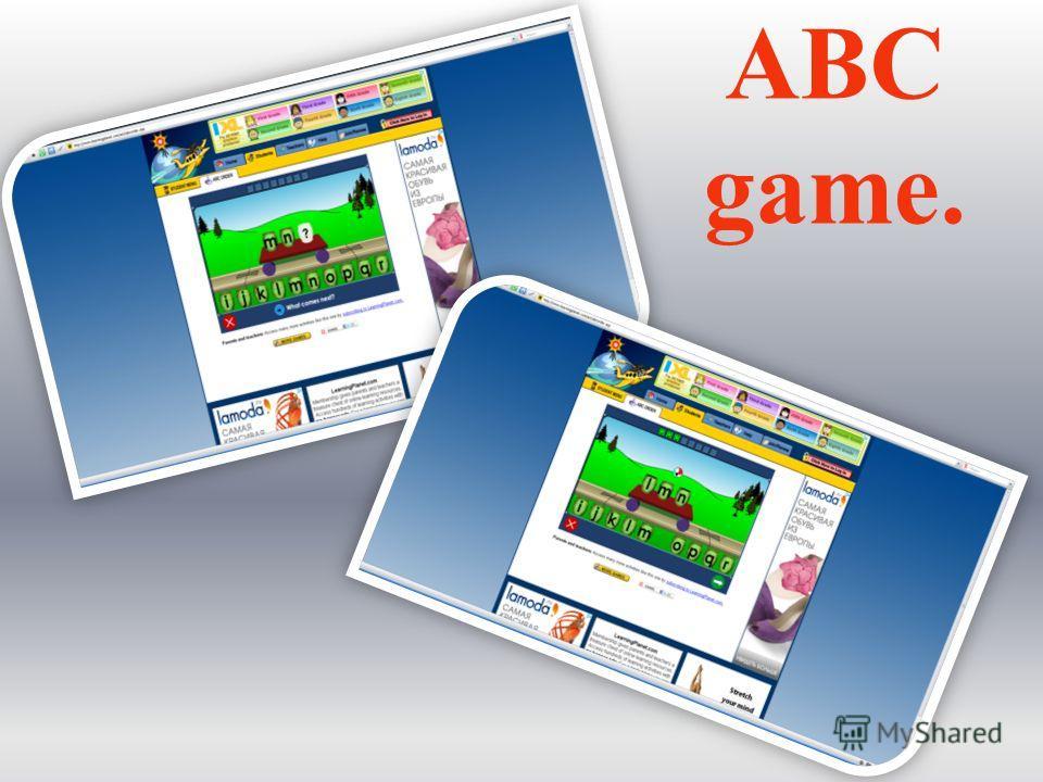 ABC game.