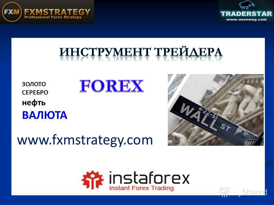 ЗОЛОТО СЕРЕБРО нефть ВАЛЮТА www.fxmstrategy.com