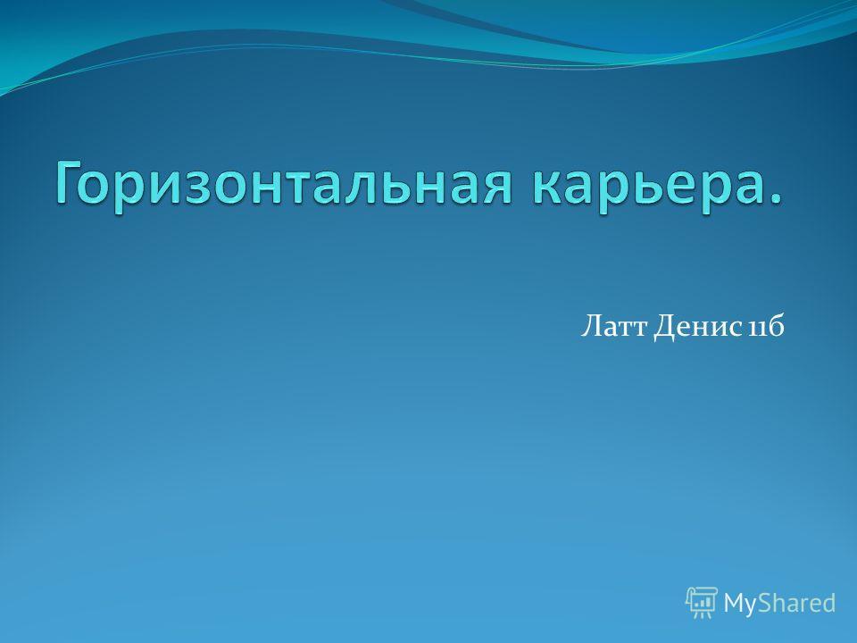 Латт Денис 11б