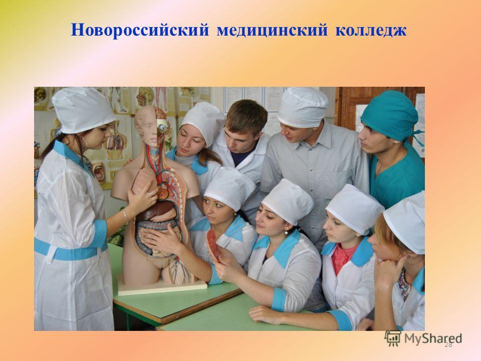 Новороссийский медицинский колледж 28