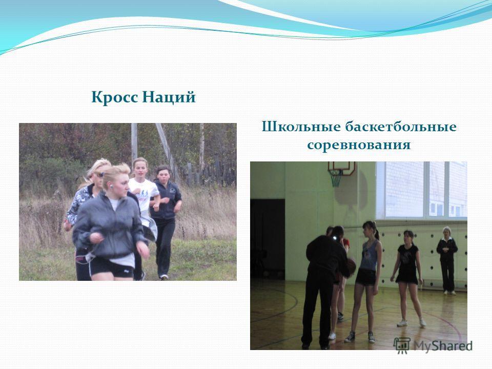Кросс Наций Школьные баскетбольные соревнования