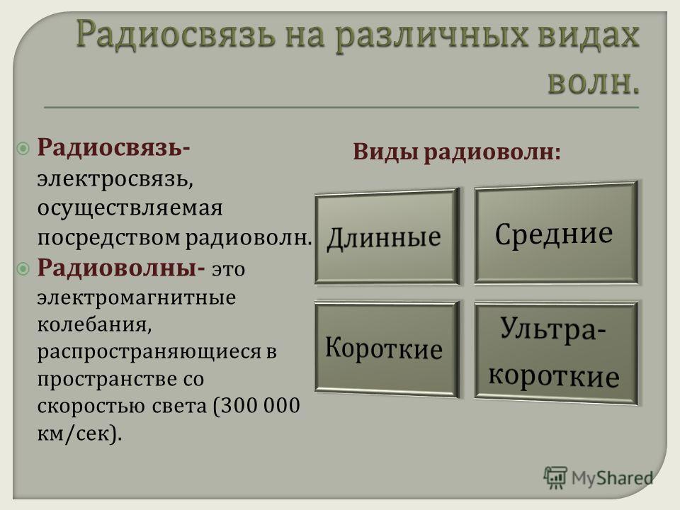 В своем радиоприемнике А. С. Попов использовал когерер в качестве обнаружителя электромагнитных волн. При прохождении электромагнитных волн опилки слипались друг с другом и их сопротивление электрическому току резко падало. В приемнике Попова ток, на