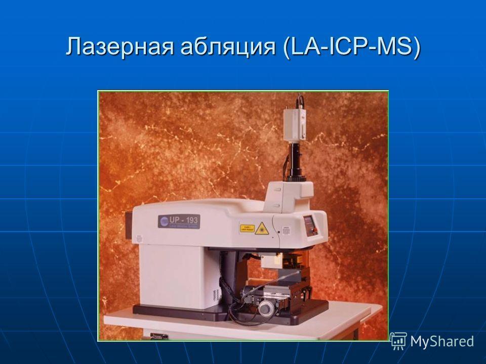 Лазерная абляция (LA-ICP-MS)