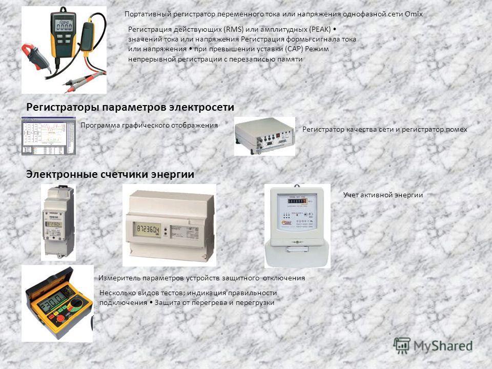 Портативный регистратор переменного тока или напряжения однофазной сети Omix Регистрация действующих (RMS) или амплитудных (PEAK) значений тока или напряжения Регистрация формы сигнала тока или напряжения при превышении уставки (CAP) Режим непрерывно