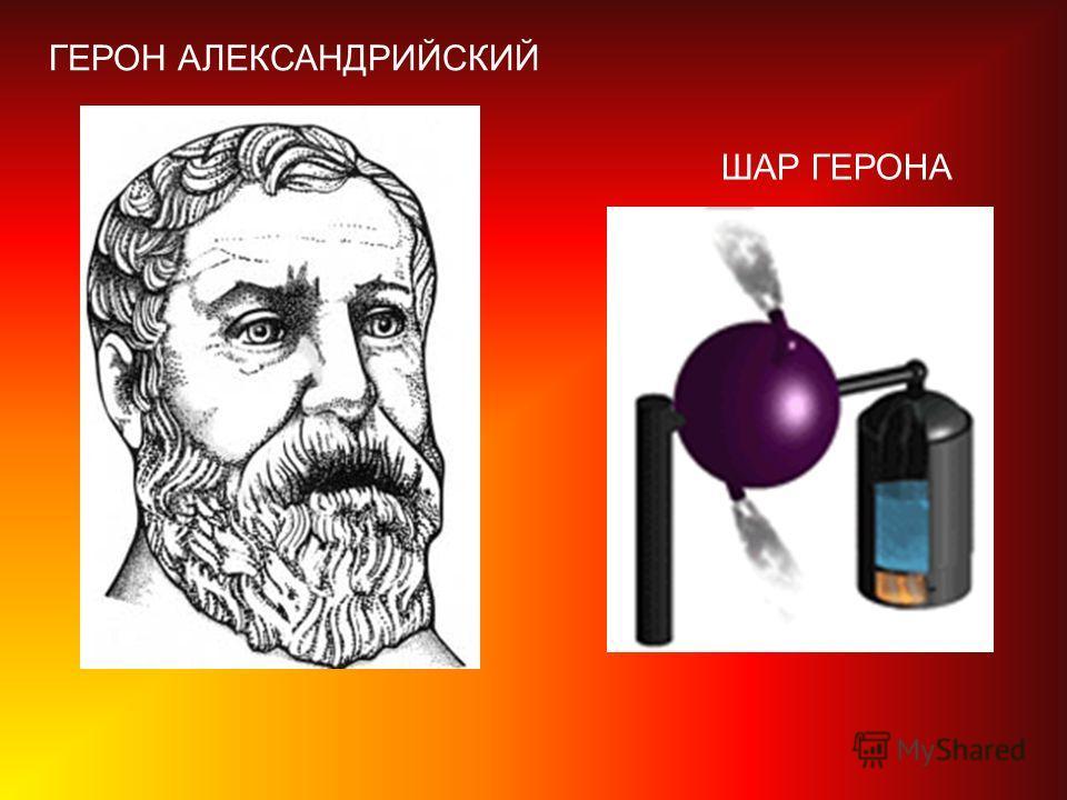 ГЕРОН АЛЕКСАНДРИЙСКИЙ ШАР ГЕРОНА