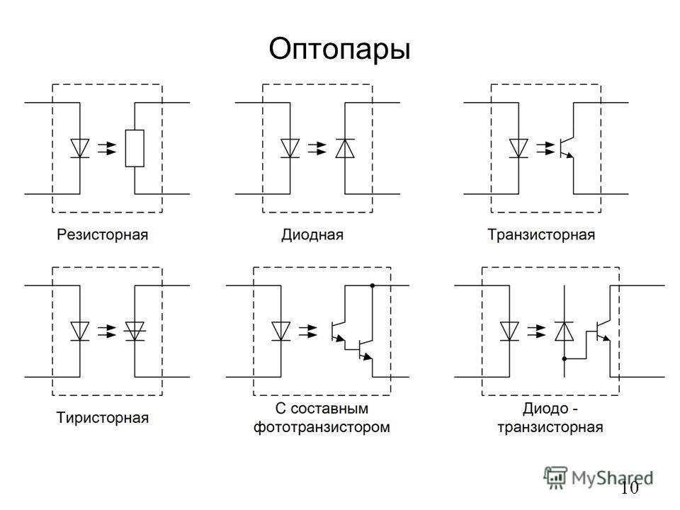 Оптопары 10