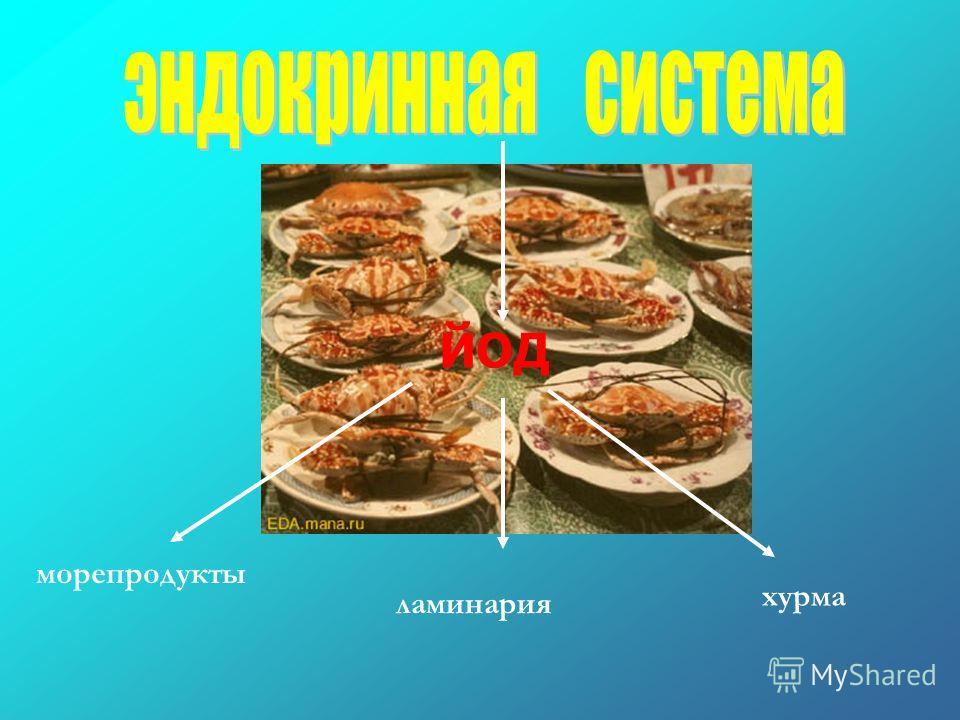 морепродукты ламинария хурма ЙОД
