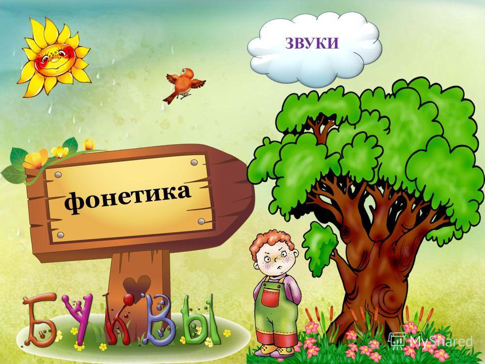 фонетика ЗВУКИ