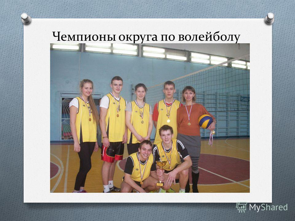 Чемпионы округа по волейболу