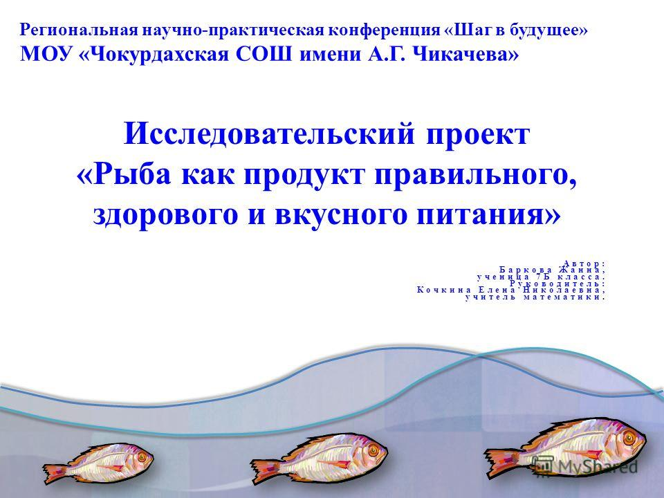 Региональная научно-практическая конференция «Шаг в будущее» МОУ «Чокурдахская СОШ имени А.Г. Чикачева»