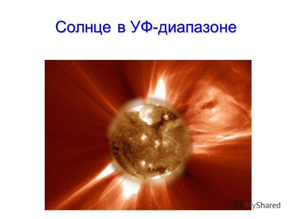 Солнце в УФ-диапазоне