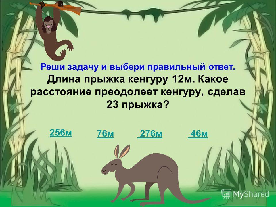 Здравствуй, четвероклассник! Обитатели джунглей приветствуют тебя и просят помочь им решить задачи.